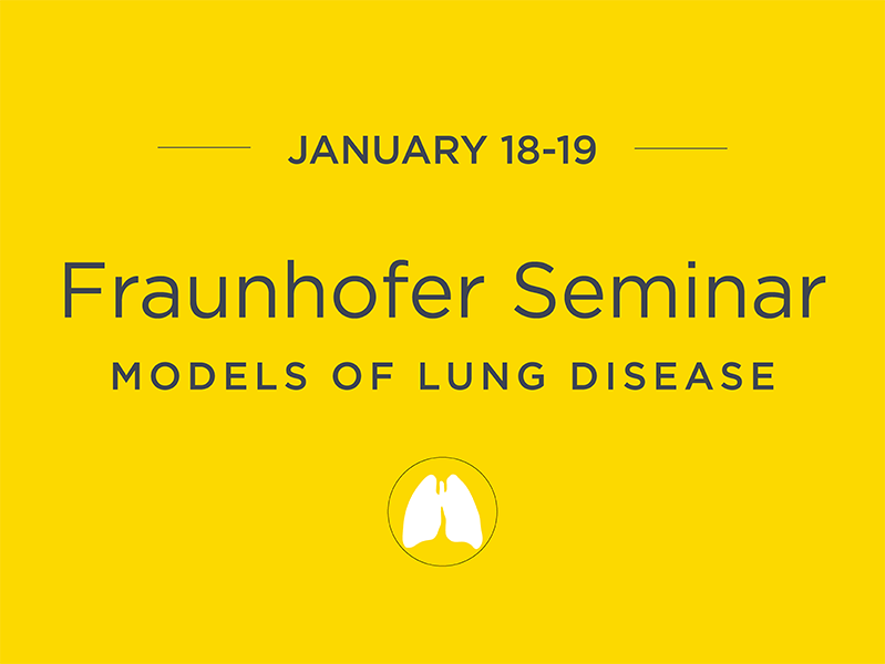 Fraunhofer2018  17th Fraunhofer Seminar Fraunhofer2018