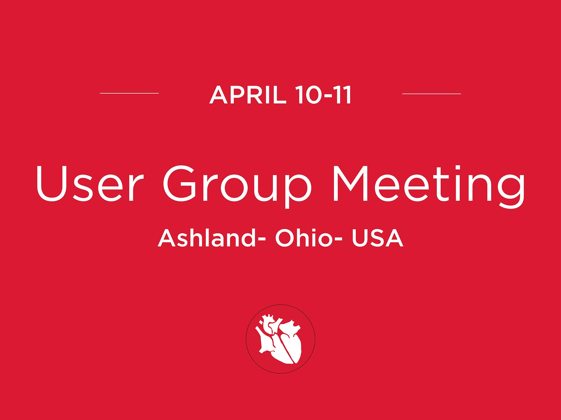 User Group Meeting – USA UGM2018 USA April